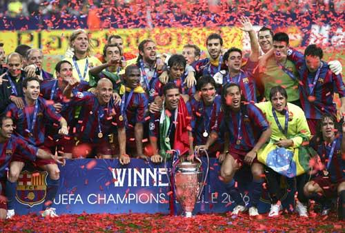 El Barsa ganó la Champions en 1992 y 2006