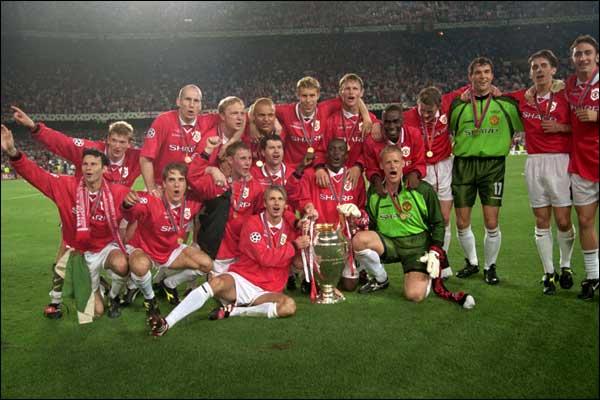 El United se consagró en 1968, 1999 y 2008