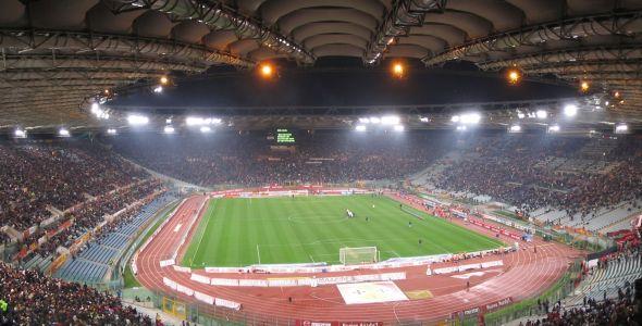 El estadio también fue sede de la final del mundial de Italia 1990