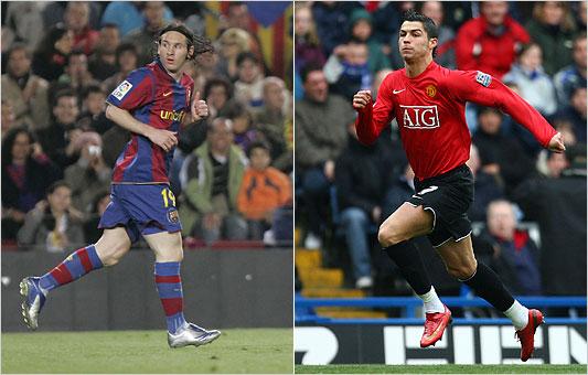 Messi y Ronaldo, los mejores del mundo